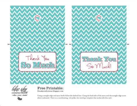 thank you card envelope template and mailing blue sky confections thank you cards envelope template