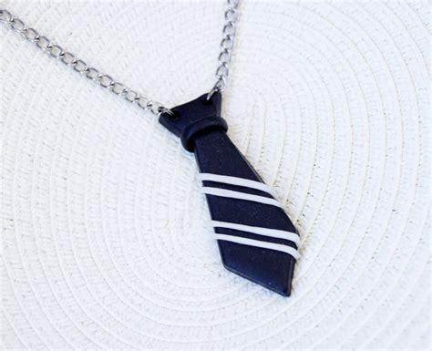 Ac01 Stripe Tie Necklace striped tie necklace by lemondemon on deviantart