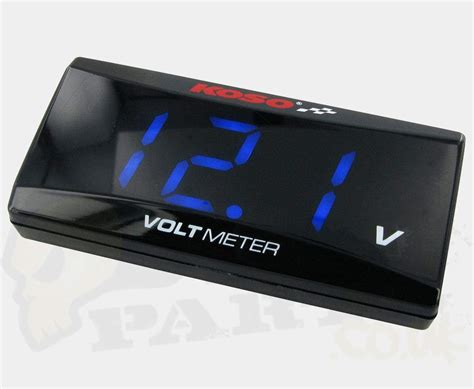 koso digital volt meter pedparts uk
