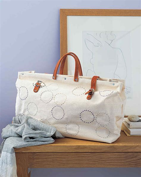 Tote Bag Pattern Martha Stewart | tote bag and purse sewing projects martha stewart