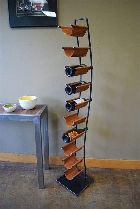 creative wine shelf designs  adorn  kitchen