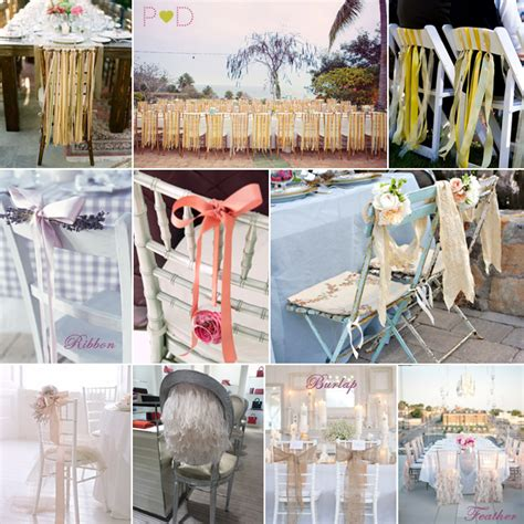 alternative to chair sashes wedding forum you