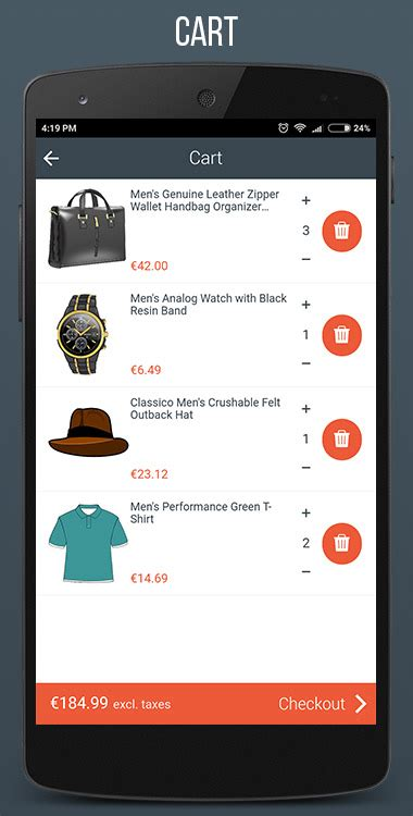 Mobilefront Shopify Mobile App By Mobilefront Codecanyon Shopify Mobile Template