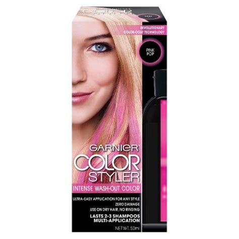 color wash out garnier color styler wash out haircolor target
