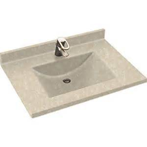 Swanstone Vanity Top With Sink Swanstone Cv2231 Contour One Vanity Top
