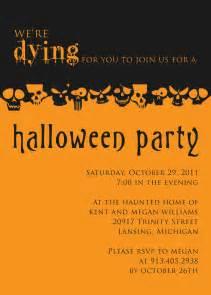 halloween party invite template plumegiant com