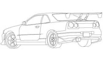 gtr coloring pages nissan skyline gtr r34 coloring pages coloring pages