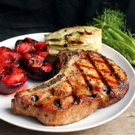thick grilled pork chops thestayathomechef com