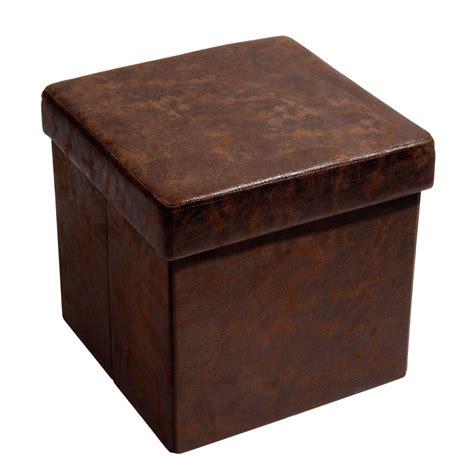 Délicieux Pouf Coffre Maison Du Monde #1: pouf-coffre-pliable-marron-vintage-1000-4-17-124206_1.jpg