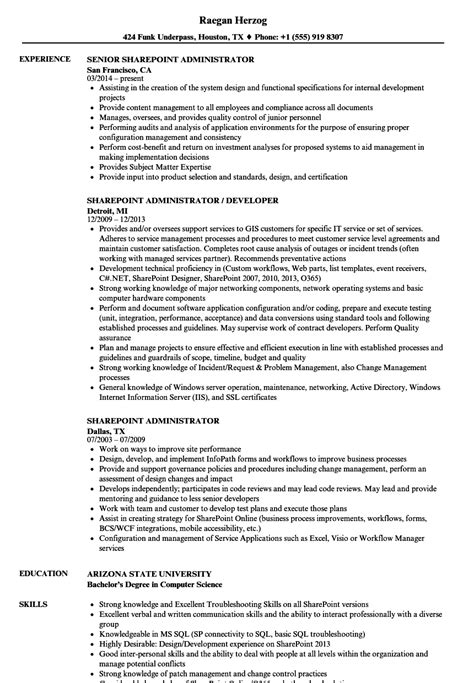 magnificent sharepoint developer resume sample images professional