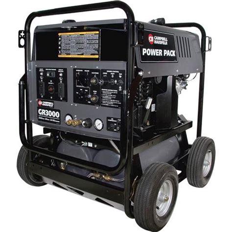 t23143 cbell hausfeld gr3000 4800 watt air compressor generator welder ebay