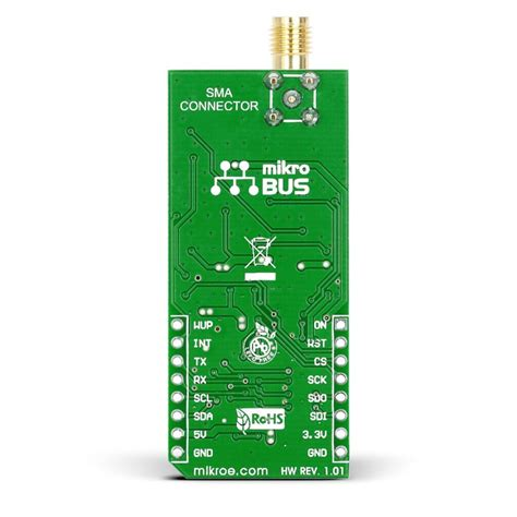 Board X16 Gps Sett Include Gps Module gps2 click mikrobus board with quectel l30 gps module and sma antenna connector