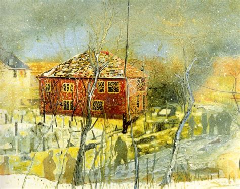 artist house red house peter doig wikiart org encyclopedia of