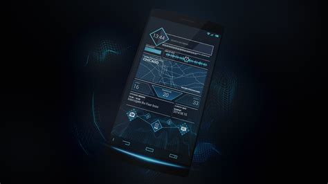 computer themes for android mobile watch dogs future ctos theme android by thenbt on