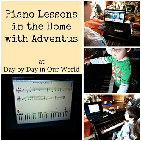 tutorial piano to build a home piano lessons in the home using adventus day by day in