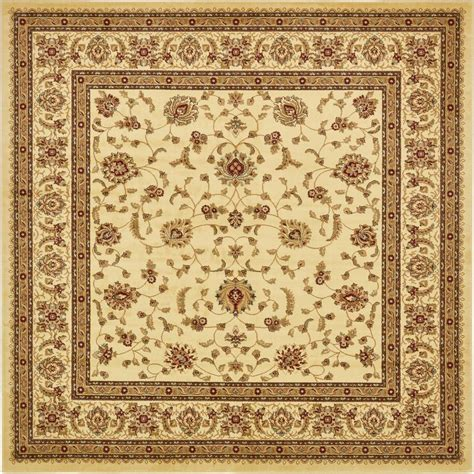 10 Ft Square Rugs - unique loom agra 10 ft x 10 ft square rug 3132939