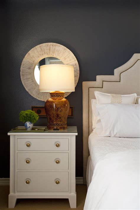 nightstand ideas magnificent mirrored nightstand home goods decorating