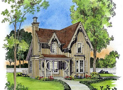 cottage plans designs gothic revival gem 43044pf 2nd floor master suite cottage country narrow lot pdf