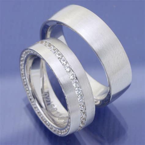 Wei Gold Hochzeitsringe by Eheringe Shop Hochzeitsringe 585 Weissgold Zwei