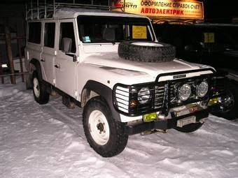 manual cars for sale 1995 land rover defender parental controls 1995 land rover defender photos 3500cc gasoline manual for sale