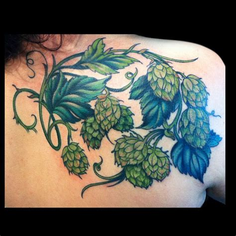 hops tattoo hops www imgkid the image kid has it