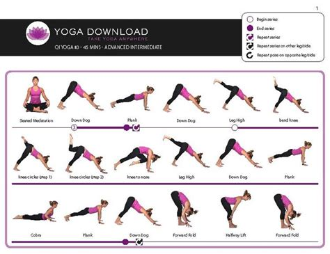 printable yoga chart yoga poses that reduce stress boost focus