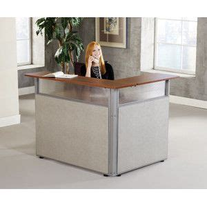 Unique Reception Desk 48 Quot X 37 Quot L Shaped Reception Station Unique Reception Desk Designs
