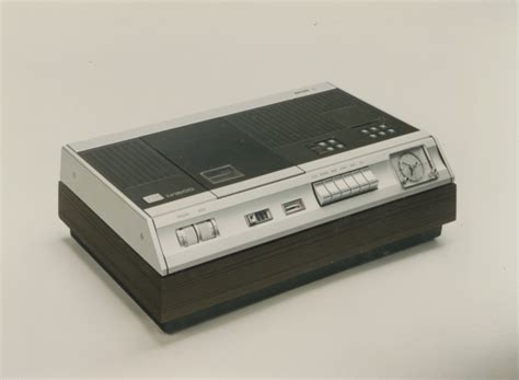 videoregistratore a cassette dall audiocassetta al videoregistratore philips research