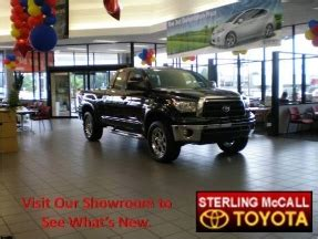 Sterling Mcall Toyota Sterling Mccall Toyota Houston Tx