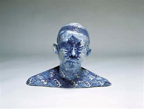 10 Uses Of Ceramics - porcelain busts imprinted with decorative designs