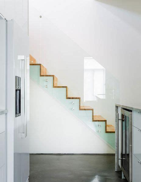 barandilla moderna escaleras modernas con barandilla de cristal escaleras