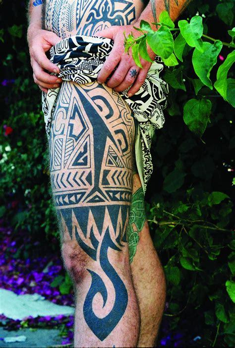 tribal tattoo leo zulueta from taboo to timeless tribal tattoo artist leo zulueta