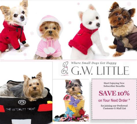 accessories for puppies gw for small dogs coupons and promo codes