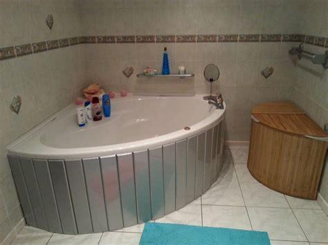 offset corner bath shower screen custom made silver mdf bath panel ideal for corner bath and offset baths