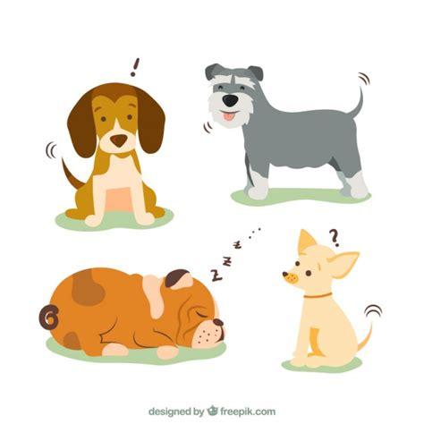 dog breeds illustration vector