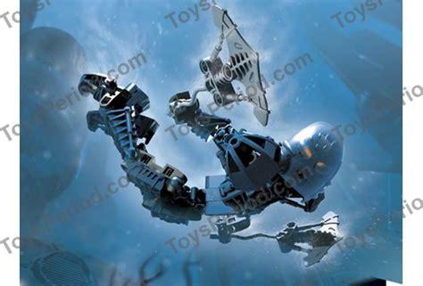 Original Lego Bionicle 8603 Toa Nokama 7 Years lego 8602 toa nokama set parts inventory and