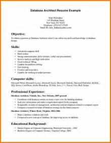 Resume Template 2017 Exles Sle Architect Resume Resume Cv Cover Letter