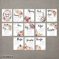 Calendar 2018 Printable Floral 25 Best Ideas About Calendars 2016 On Free