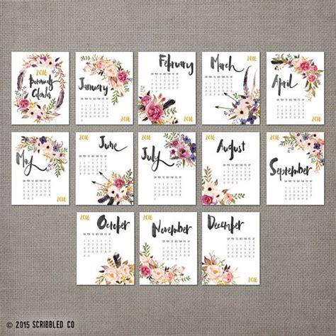printable calendar 2016 flowers 25 best ideas about calendars 2016 on pinterest free