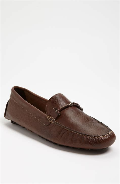 walnut shoes martin dingman wallace driving shoe in brown for