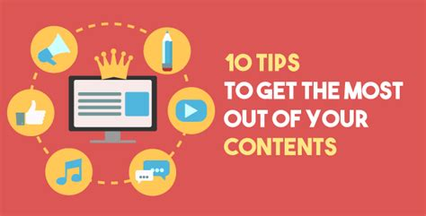 10 tips to get the most out of selling your home 10 content marketing tips to get the most out of your