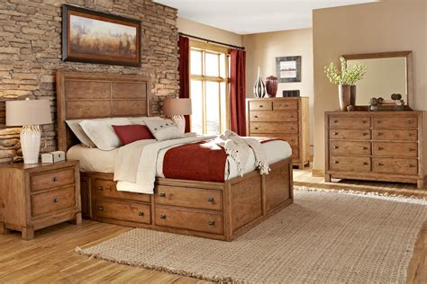 rustic bedroom and newbury wood bedroom collection wood