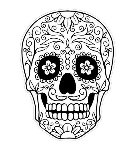 day of the dead skull coloring page enjoy coloring