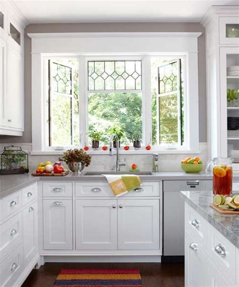 window ideas for kitchen 25 best ideas about kitchen bay windows on