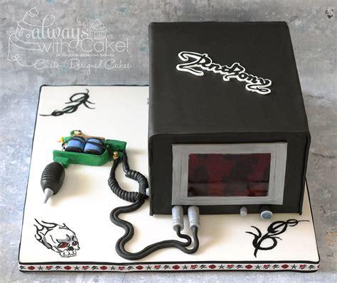 tattoo gun birthday cake 3d sculpted queen creek bakery phoenix bakery