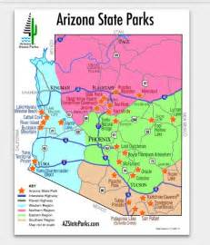 arizona state park map 32 best images about map it out on southern