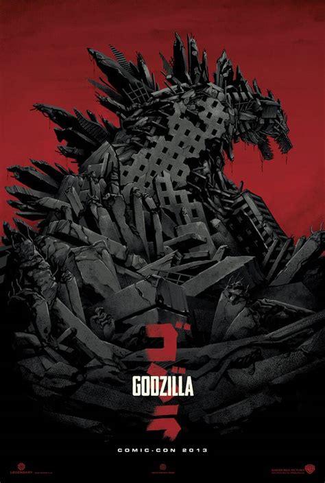 godzilla   posters  trailer xcitefunnet