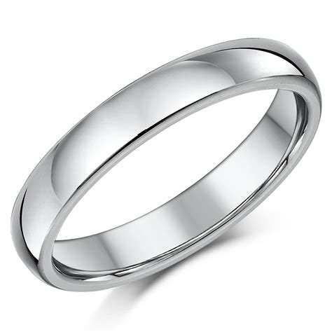 Shaped Wedding Ring by Titanium Court Shaped Wedding Ring Court Shape
