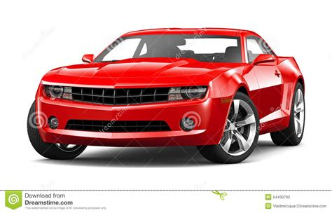 car white background car on a white background stock illustration