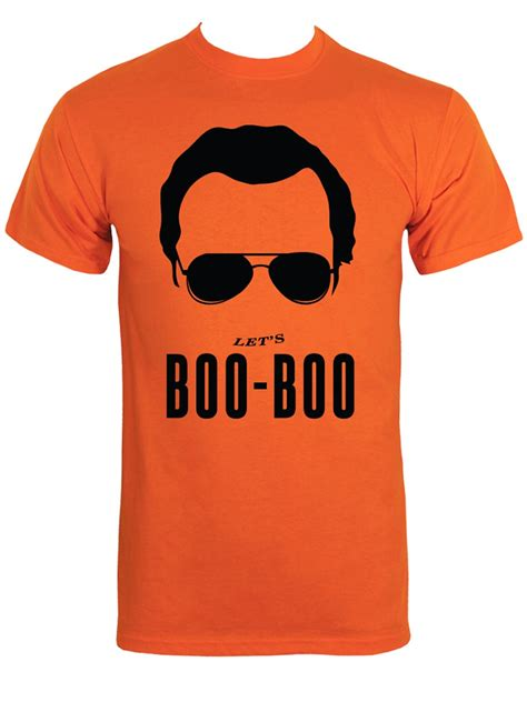 Christmas Gifts For Men Uk - let s boo boo men s orange t shirt inspired by the world s end buy online at grindstore com